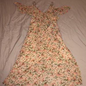 Xhilaration Medium Peach Floral Dress